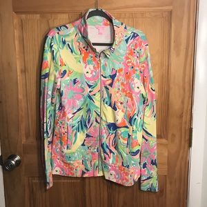 Lilly Pulitzer Zip-up Popover Large
